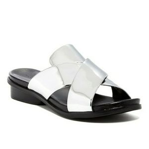 French Connection Basia Metallic Sandals